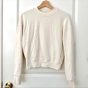 Uniqlo U Cream Crewneck Longsleeve Sweatshirt